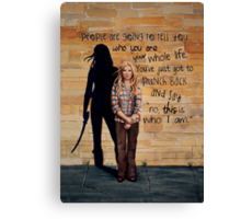This is Who I Am Canvas Print