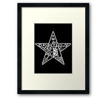 Persona! - star Framed Print
