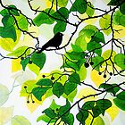Bird in the Bush by marlene veronique holdsworth