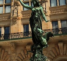 The girl of the fountain by 2Herzen