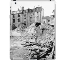 Paris 1975 a forgotten past and now destroyed  Olao-Olavia by Okaio Créations   n3 (h) iPad Case/Skin