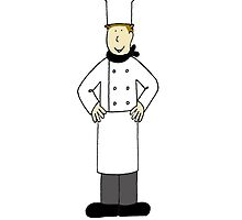 Male chef, congratulations  on graduating from culinary school. by KateTaylor