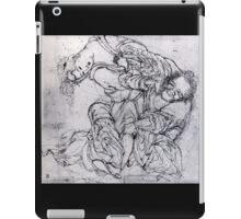 'Suikoden Scene' by Katsushika Hokusai (Reproduction) iPad Case/Skin