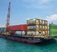 Díli Barge by Werner Padarin