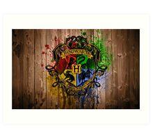 hogwarts university Art Print