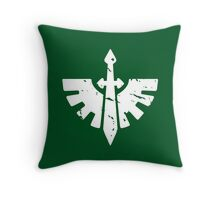 Dark Angels - Sigil - Warhammer Throw Pillow