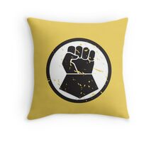 Imperial Fists - Sigil - Warhammer Throw Pillow