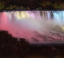 Night At the Falls by Kathy Weaver