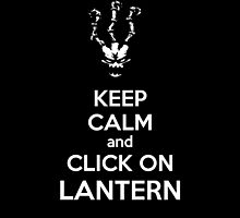 Thresh - League of Legends - Keep Calm and Click On Lantern - White by Stokha