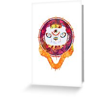 The Minds Tiger Greeting Card