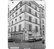 Paris 1975 a forgotten past and now destroyed  Olao-Olavia by Okaio Créations   n13 (h) iPad Case/Skin