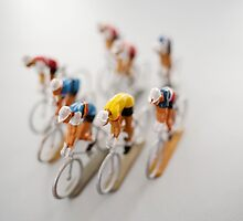Cyclists 1 by Flo Smith