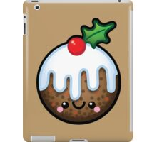 Cute Kawaii Christmas Pudding iPad Case/Skin