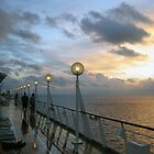 Sunrise Vision of the Seas  by John  Kapusta
