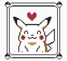 Happy Pikachu (Retro) Kids Clothes