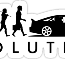Evolution of Pilot (5) Sticker