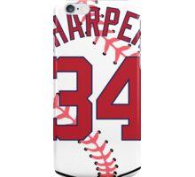 Bryce Harper Baseball Design iPhone Case/Skin