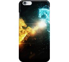 Water and fire horses iPhone Case/Skin