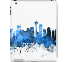 Seattle Washington Skyline iPad Case/Skin
