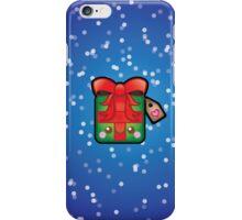 Cute Kawaii Christmas Present iPhone Case/Skin