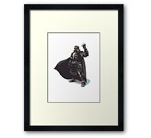 Minimalist Ganondorf from Super Smash Bros. Brawl Framed Print
