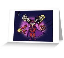 Magnetism problems Greeting Card