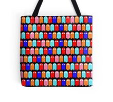 Mini Ghost Army! ~ Pac-Man Style Tote Bag