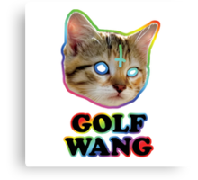 odd future cat  Canvas Print