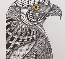 Tangled Eagle No. 1 by PennyRaeN