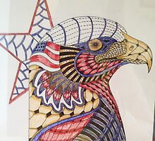 Tangled Eagle No. 4 by PennyRaeN