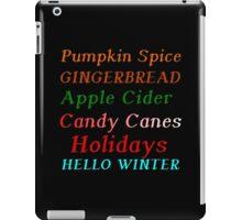 HELLO WINTER iPad Case/Skin