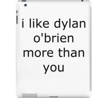 Dylan O'Brien Love iPad Case/Skin