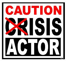 CAUTION - ISIS ACTOR by JamesChetwald