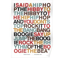 Rapper's Delight - Sugarhill Gang Poster