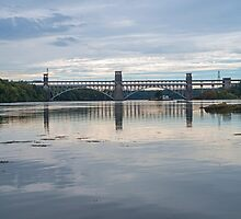 Britannia Bridge Anglesey North Wales by Nick Jenkins