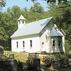 Cades Cove Missionary Baptist Church... products by © Bob Hall