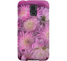 Pink For Breast Cancer Awareness Samsung Galaxy Case/Skin