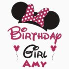 Birthday girl with Minnie ears ~ Amy by sweetsisters