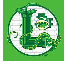 Super Luigi Emblem Photographic Print