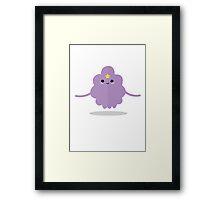Lumpy Space Princess! Framed Print