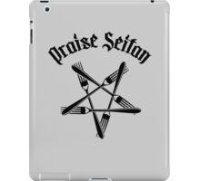 Praise Seitan 1.2 (black) iPad Case/Skin
