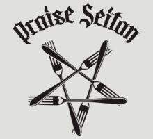 Praise Seitan 1.2 (black) by MysticIsland
