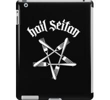 Hail Seitan 1.2 (white) iPad Case/Skin