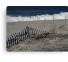 September Surf Canvas Print