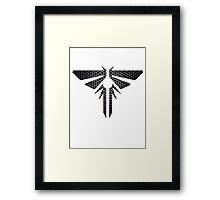 Metal Firefly Emblem Framed Print