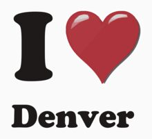 I Love Denver by ColaBoy