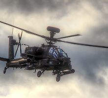 Mean Looking  Apache HDR - Dunsfold Wings and Wheels 2014 by Colin J Williams Photography