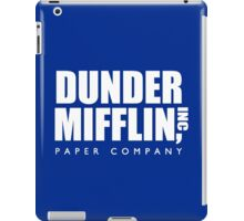 Dunder Mifflin Paper Company Title (White) - The Office iPad Case/Skin
