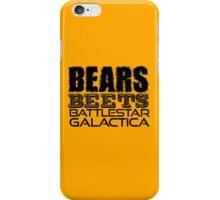 Bears, Beets, Battlestar Galactica - The Office iPhone Case/Skin