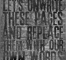 Rise Against - Swing Life Away - Unwrite by LaurenTank